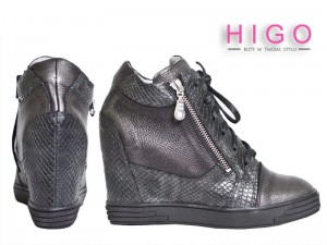 HIT SNEAKERS 1176 CZARNE