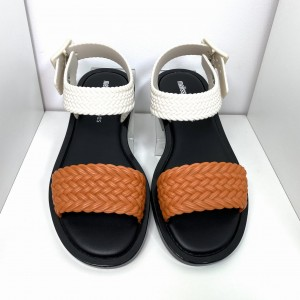 SANDAŁY MELISSA MAR SANDAL+SALINAS A 32482 ORANGE/BLACK
